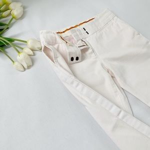 tory burch   side stripe cropped pant
